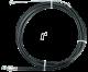 Μπροστινό συρματόσχοινο φρένων ποδηλάτου με περίβλημα 55cm PROPHETE (11)