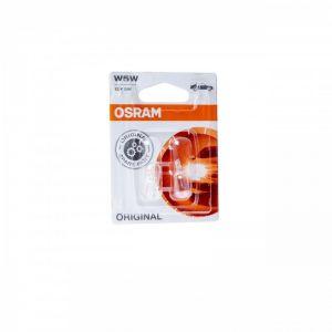 Λάμπες αυτοκινήτου W5W 5W 2 τεμάχια OSRAM (2825-02B)